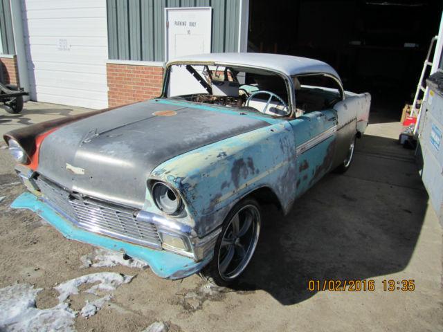 1956 chevrolet belair 2 door hard top for 1956 belair 2 door