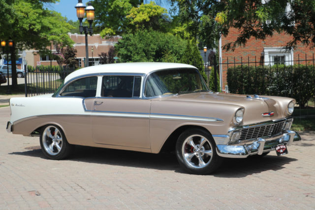 1956 chevrolet belair 2 door post car restomod zz350