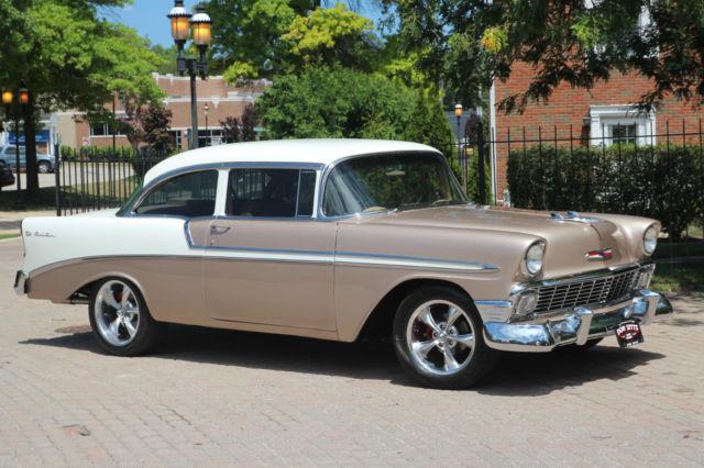 1956 chevrolet belair 2 door post car restomod zz350 for 1956 belair 2 door