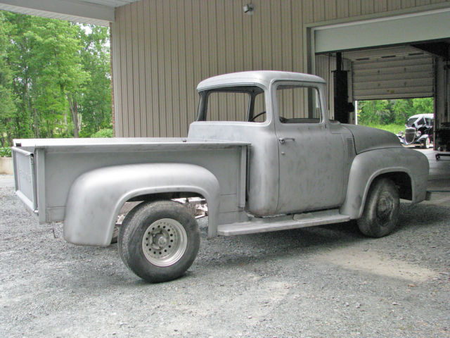 1956 f100 big window rare find body is very solid just for 1956 f100 big window