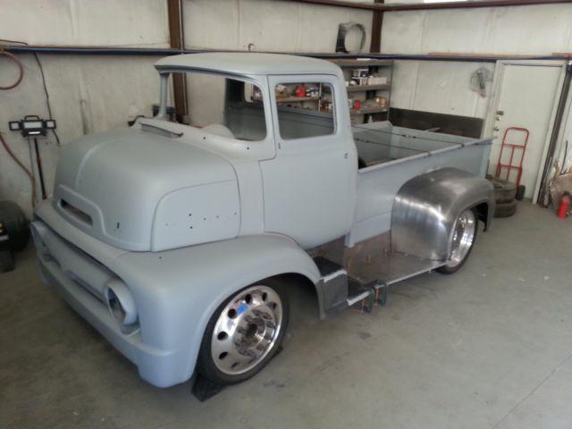 1956 ford coe custom pickup project. Black Bedroom Furniture Sets. Home Design Ideas