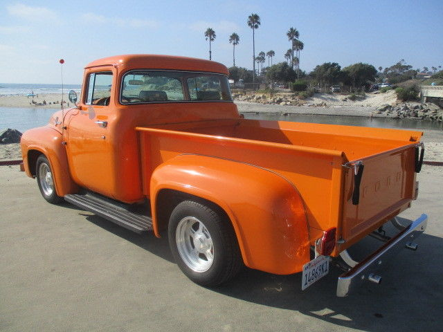 1956 ford f 100 big window shortbed pickup 2 chop 302 no for 1956 ford f100 big window truck for sale