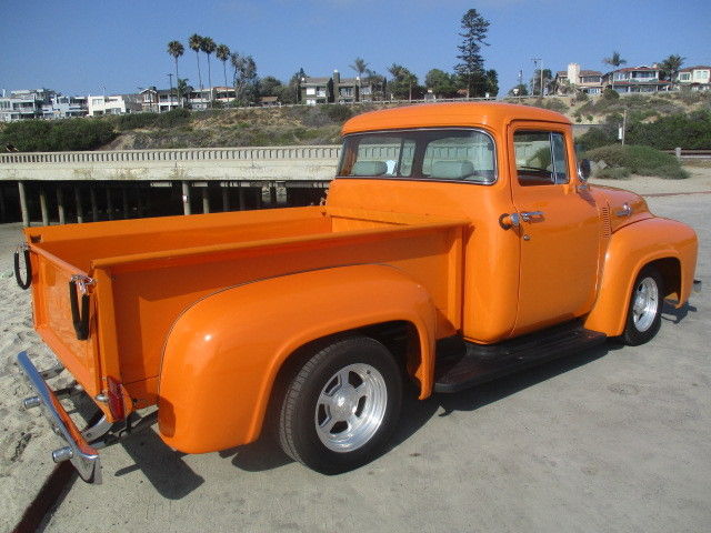 1956 ford f 100 big window shortbed pickup 2 chop 302 no for 1956 f100 big window for sale