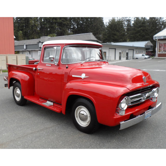 1956 ford f 100 west coast truck built in san jose rare for 1956 f100 big window