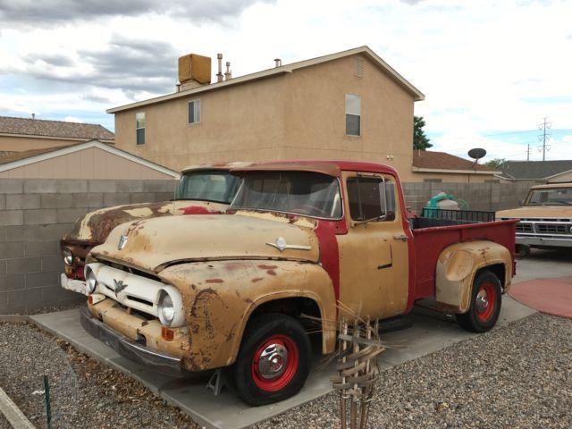 1956 ford f100 1956 f200 parts truck. Black Bedroom Furniture Sets. Home Design Ideas