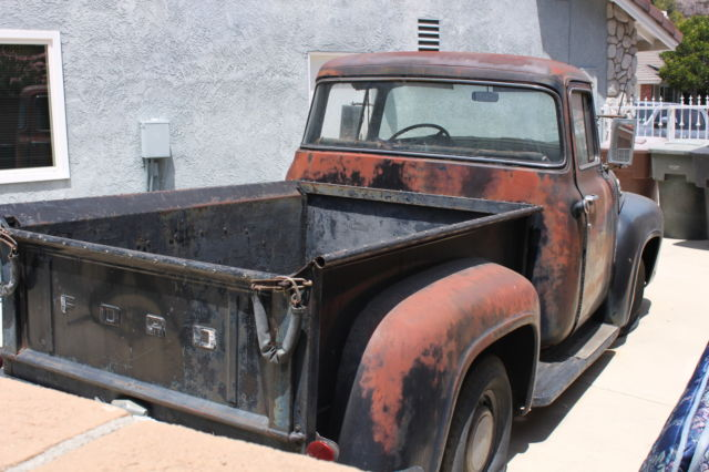 1956 ford f100 big window pick up all original never for 1956 ford big window