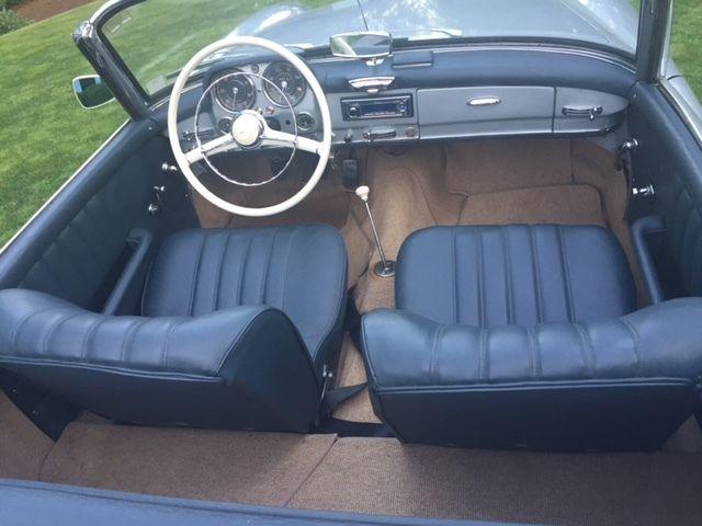 1956 mercedes benz190sl roadster for Mercedes benz beaverton oregon