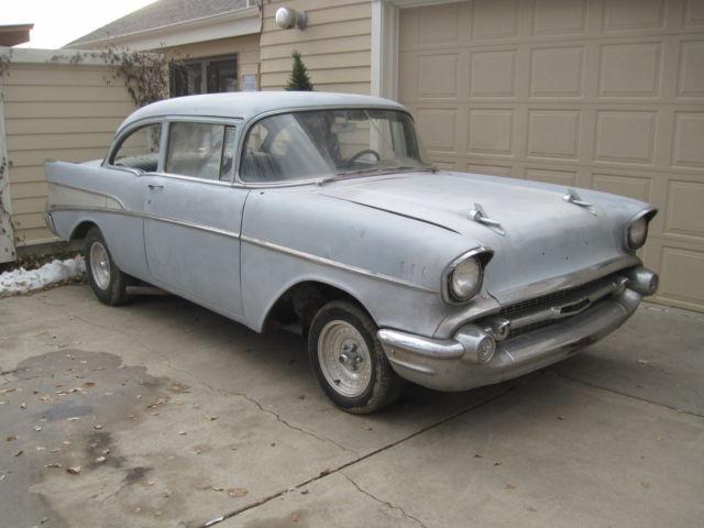 1957 Chevrolet 2 Door Delray Vintage Classic Barn Find