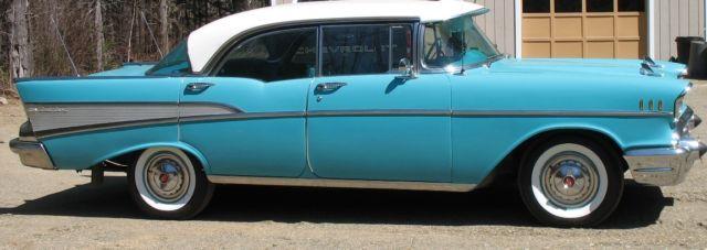 1957 chevrolet 4 door sport sedan hard top. Black Bedroom Furniture Sets. Home Design Ideas