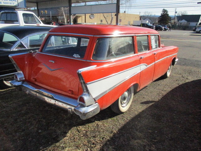 1957 chevrolet 4 door wagon bel air 15 210 for 1957 chevy 4 door wagon for sale