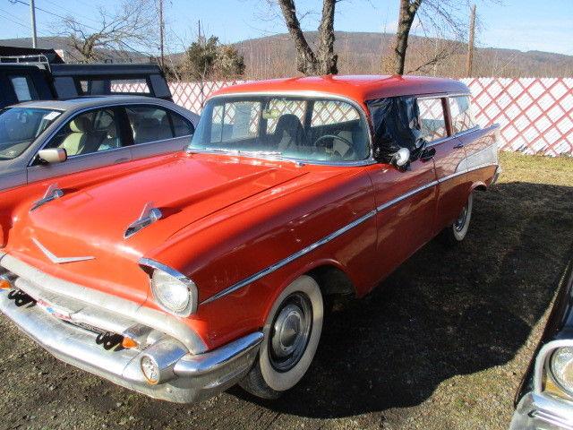 1957 chevrolet 4 door wagon bel air 15 210 for 1957 chevy wagon 4 door
