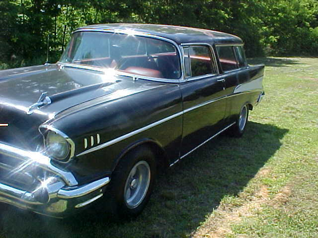 1957 chevrolet bel air nomad wagon 4 door 4 6l for 1957 chevy 4 door wagon for sale
