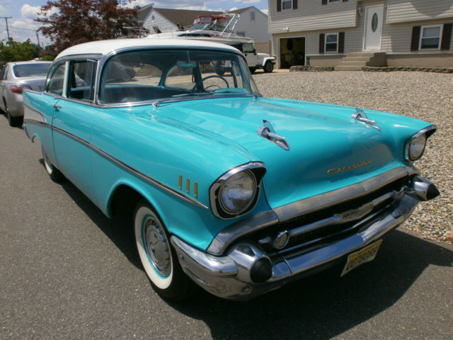 1957 chevrolet bel air sedan 2 door 3 8l for 1957 chevy belair 2 door