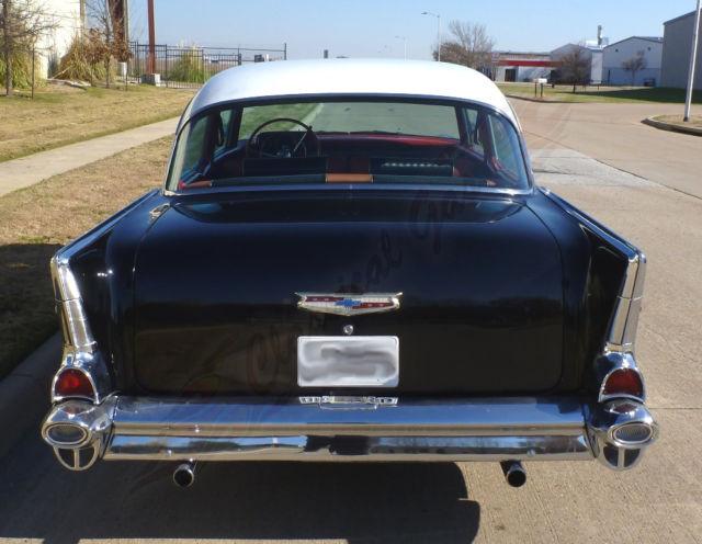 1957 Chevrolet Belair Post Original Paint And Interior