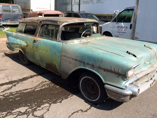 1957 chevrolet nomad 2dr v8 4spd project car for 1957 chevy 4 door wagon for sale