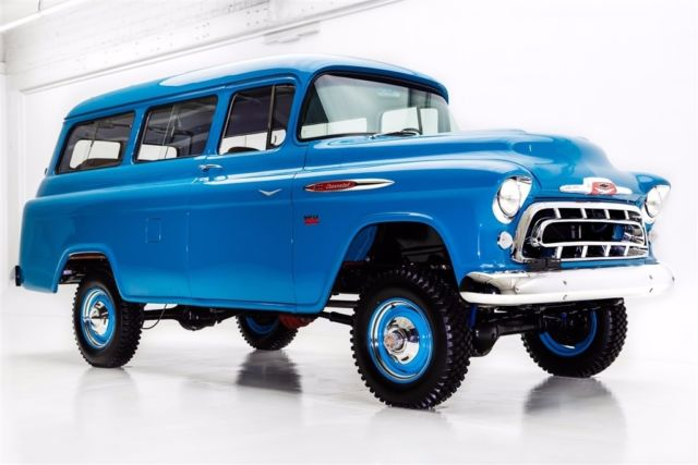 1957 chevrolet suburban napco 4 wheel drive v8 winter clearance sale 69. Black Bedroom Furniture Sets. Home Design Ideas