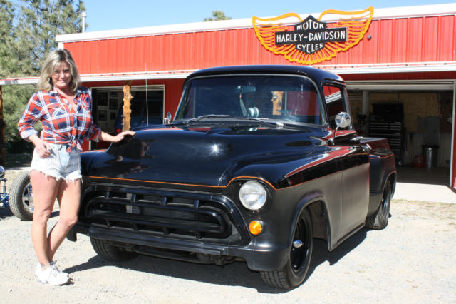 57 Chevy Panel Truck For Sale on old wrecked 1955 chevy drag car
