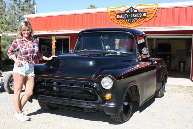 1957 Chevrolet Truck Custom Not Ford Street Rod Rat Rod Chevy Harley