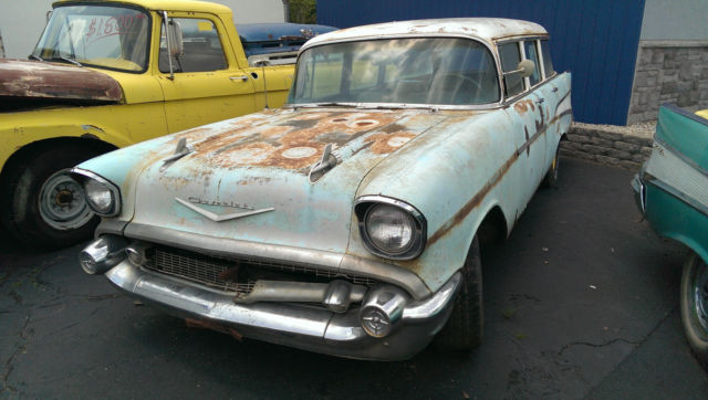 1957 chevy 210 4 door 9 passenger station wagon for 1957 chevy 4 door wagon for sale