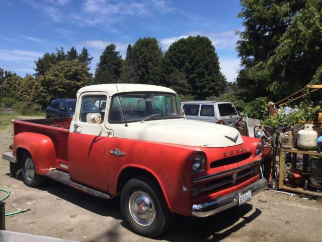 1957 dodge d100 pick up truck. Black Bedroom Furniture Sets. Home Design Ideas