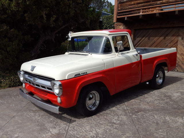 1957 f100 short bed big window classic fleet side bed not for 1956 ford f100 big window truck for sale