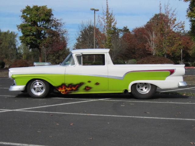 1957 ford ranchero prostreet custom - 1972 Ford Ranchero Pro Street
