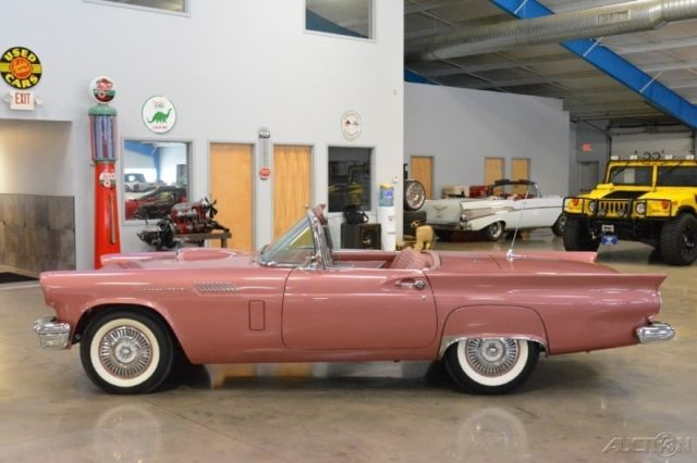 Ford Thunderbird D Code Ci V Fordomatic Automatic Aaca Grand Champion