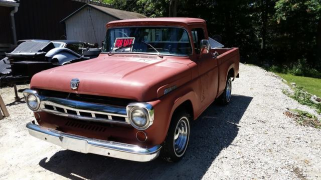 6 Door Ford Pickup >> 1957 Ford Truck F100