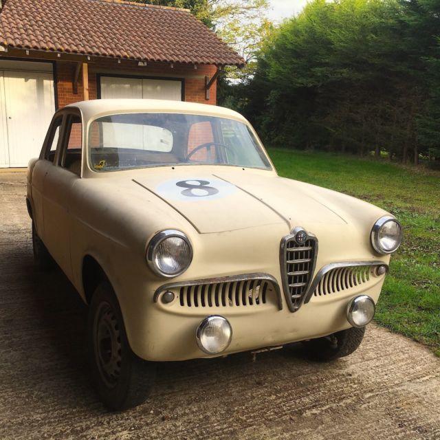 1957 Giulietta First Series Solid Project Mille Miglia