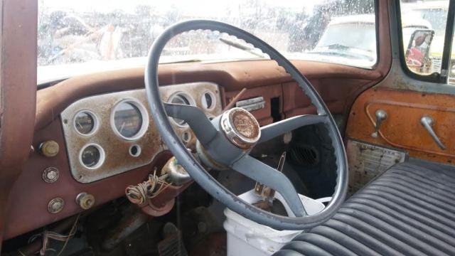 1957 Gmc 100 Pickup Big Back Window Patina Shoptruck