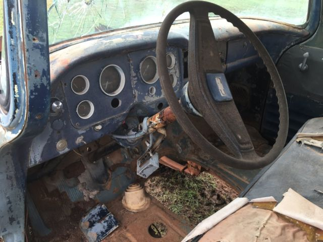 1957 Gmc Project Truck No Reserve New Parts Included