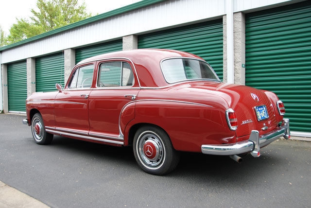 1957 mercedes 220s sedan same owner for the last 52 years for 1957 mercedes benz 220s
