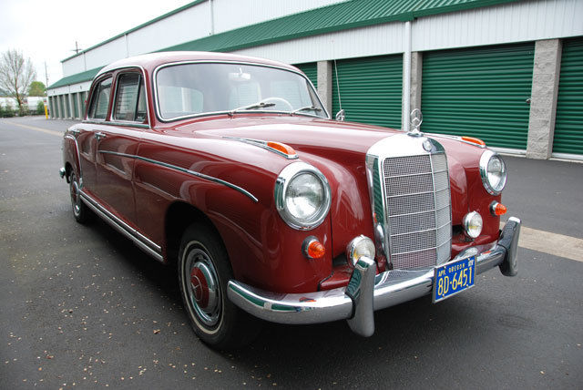 1957 mercedes 220s sedan same owner for the last 52 years for Mercedes benz eugene oregon