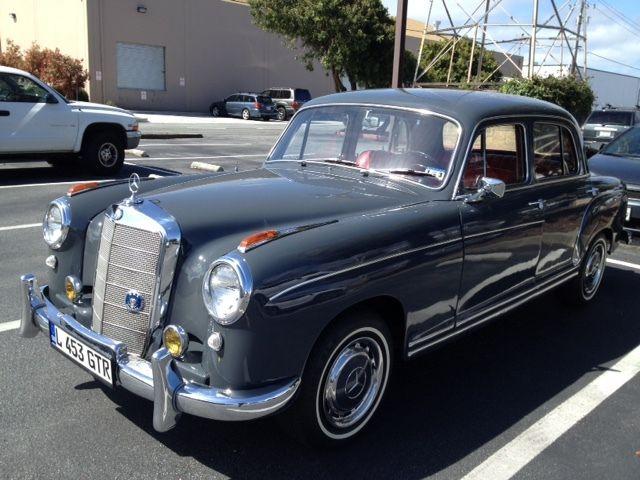1957 mercedes benz ponton for 1957 mercedes benz 220s