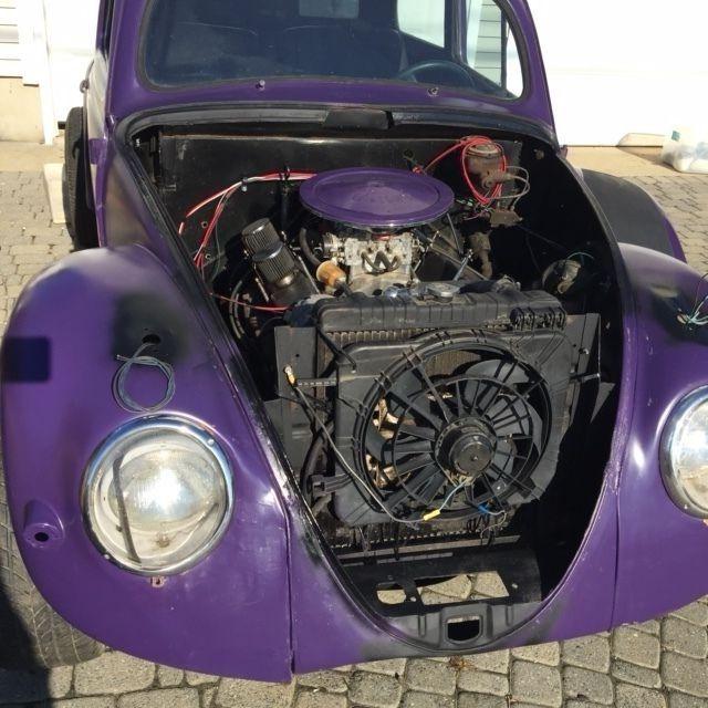 1957 Volkswagen Modified Vw Custom V8 Drag Hot Rod Rat