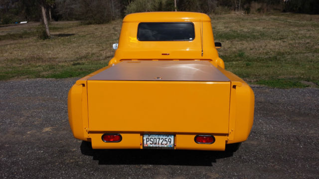 1957 Wheatland Yellow Chevytruck With Many Custom Features