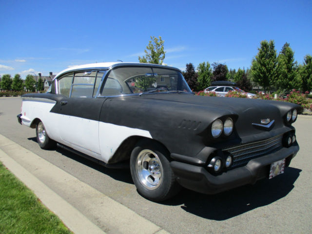 1958 chevy bel air 2 door no post custom 1955 1956 1957 for 1957 chevy belair 2 door post