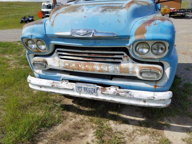 1958 chevy cab over viking lcf coe truck kustom rat rod gasser topkick pickup