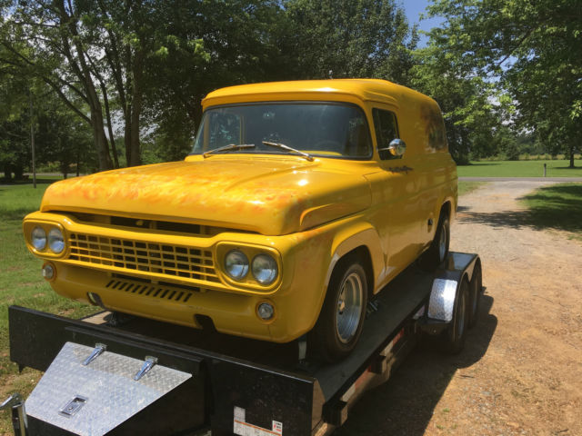 1958 ford panel truck 350 chevy motor 400 turbo transmission for 350 chevy truck motor