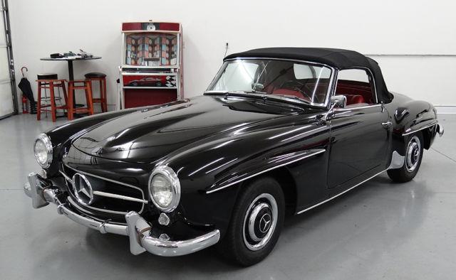 1958 mercedes 190sl convertible stunning restored. Black Bedroom Furniture Sets. Home Design Ideas