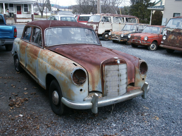 1958 mercedes benz 220 sedan parts car mb 220 benz 220 sedan for 1958 mercedes benz 220s for sale