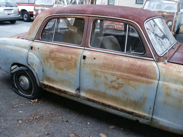 1958 mercedes benz 220 sedan parts car mb 220 benz 220 sedan for Mercedes benz truck parts