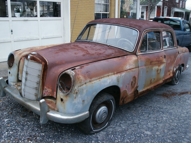 1958 mercedes benz 220 sedan parts car mb 220 benz 220 sedan for Aftermarket parts mercedes benz