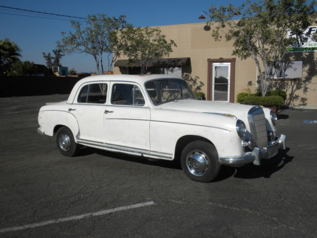 1958 mercedes benz 220s ponton 1956 1955 1954 1953 1952 for 1958 mercedes benz 220s for sale