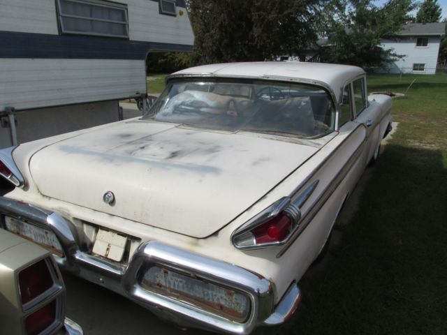 1958 Mercury 2 Door Sedan 312 V8 3 Speed Manual