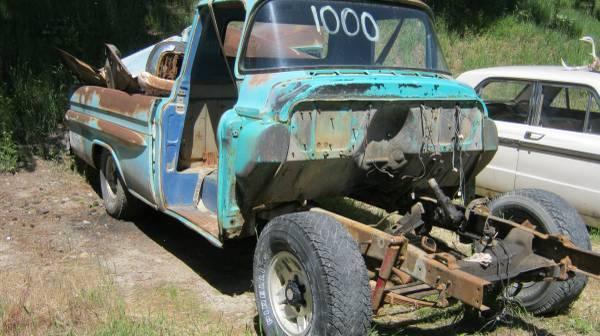 1959 chevrolet apache pickup 3200 fleetside project parts ...