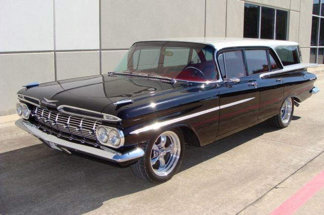 1959 Chevrolet Brookwood Wagon Streetrod Super Chevy