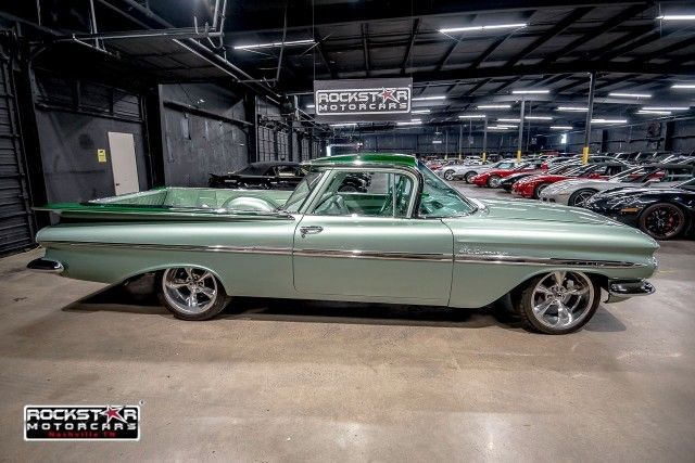 1959 Chevrolet El Camino Ss 1 Green 327 V8 Automatic