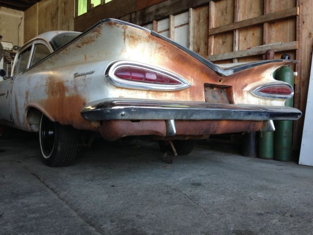 1959 Chevy Biscayne Sedan Rat Rod Hot Rod 60 61