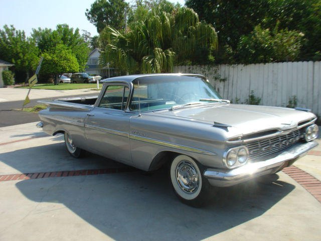 model el camino type coupe trim el camino year 1959 color silver